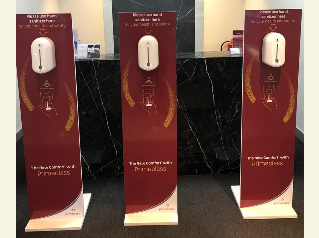 Customized Dispenser Stands